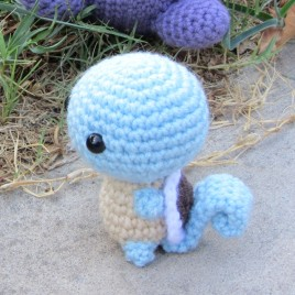 *Ready-to-Ship* – Chibi Squirtle Amigurumi
