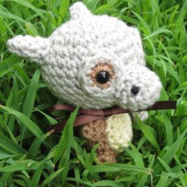 *Ready-to-Ship* – Chibi Cubone Amigurumi