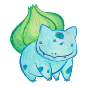 132 - Ditto - Colored Pencil