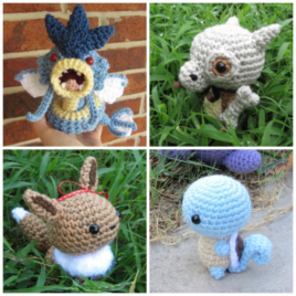 Made-to-Order – Chibi Pokemon Amigurumi