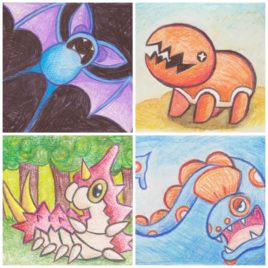 Original Art – Custom Pokemon Drawing – ACEO