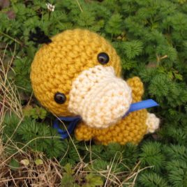 *Ready-to-Ship* – Chibi Psyduck Amigurumi