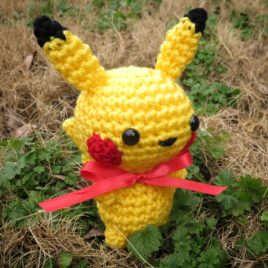 *Ready-to-Ship* – Chibi Pikachu Amigurumi