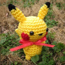 *Ready-to-Ship* – Chibi Pikachu Amigurumi